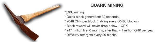 Quark Mining Guide